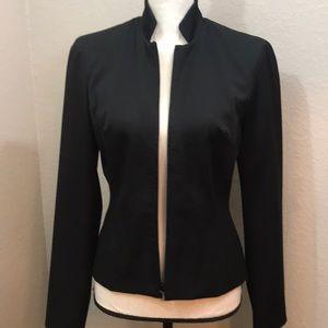 Cache lined work blazer size 4 Business black